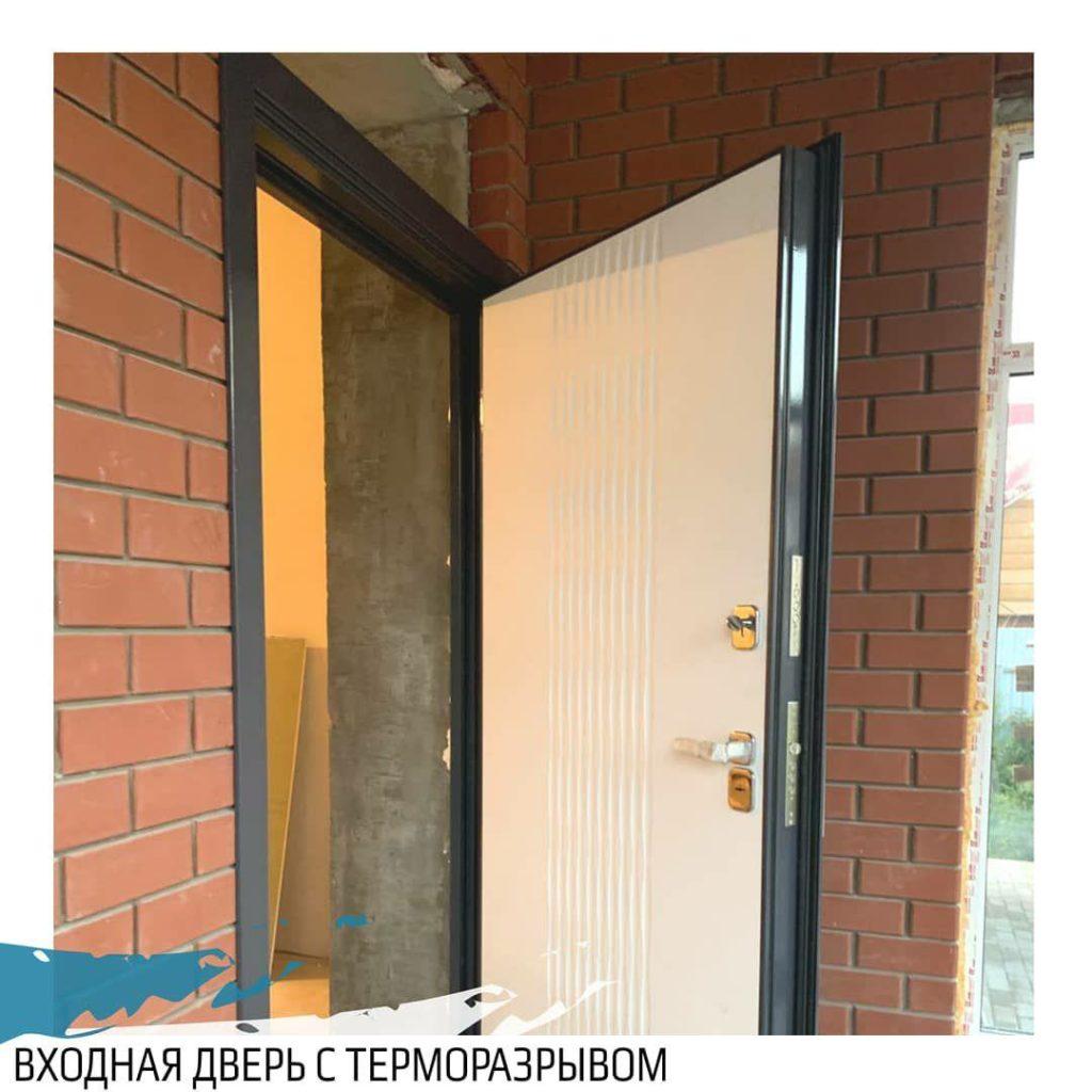 Входная дверь с терморазрывом КОВА